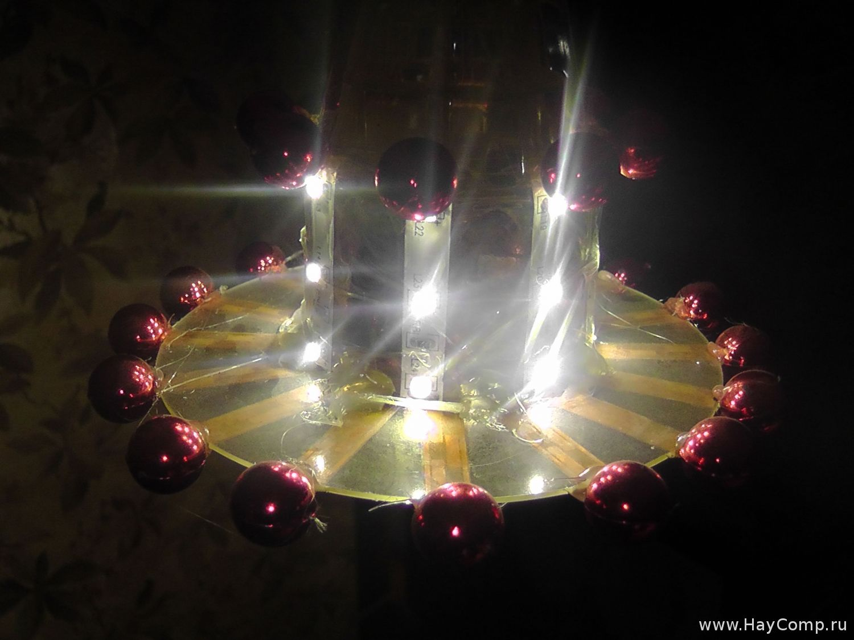 Светильник со светодиодами - Радиоэлектроника