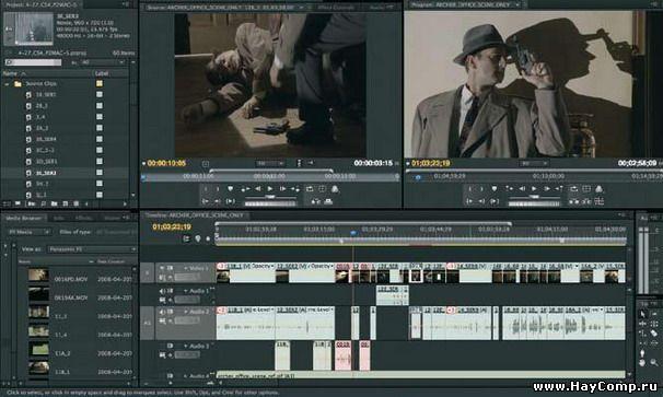 Adobe premier pro CS4 portable - Скачать бесплатно