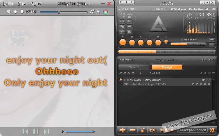 MiniLyrics 7.2.814 - Скачать бесплатно